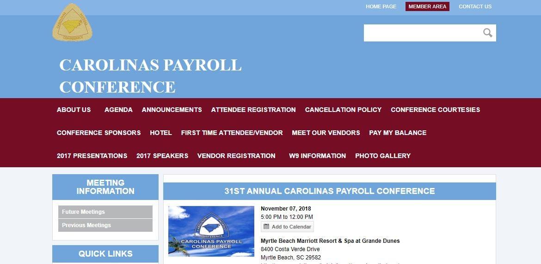 Carolinas Payroll Conference