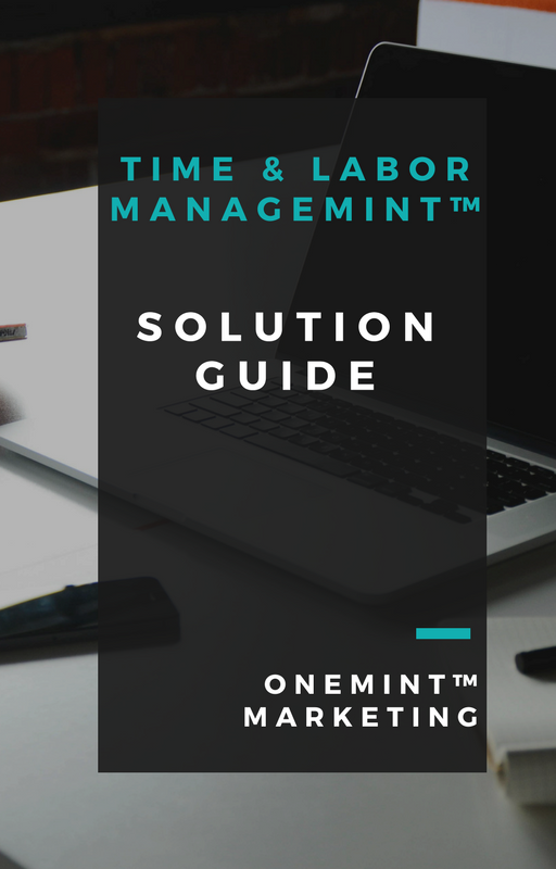 ONEMINT™, WorkforceONE Time & Labor Management Download, Bellevue, WA