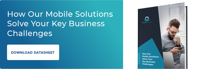 onemint mobile solutions datasheet cta