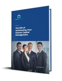 The ROI of Automating your human capital management