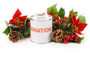Charitable giving is a great way to celebrate the holiday