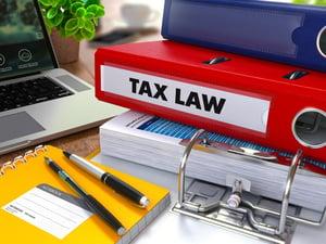 Changes to tax law legislation
