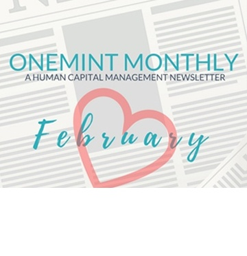 ONEMINT MONTHLY February Newsletter