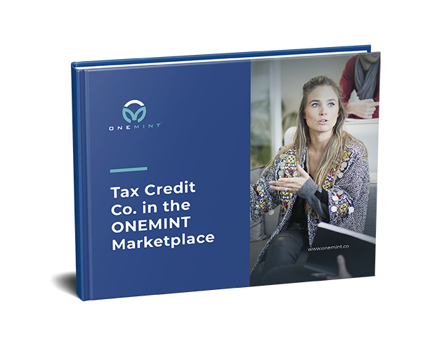 Tax Credit Co. in the ONEMINT Marketplace