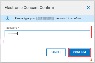 password new ui