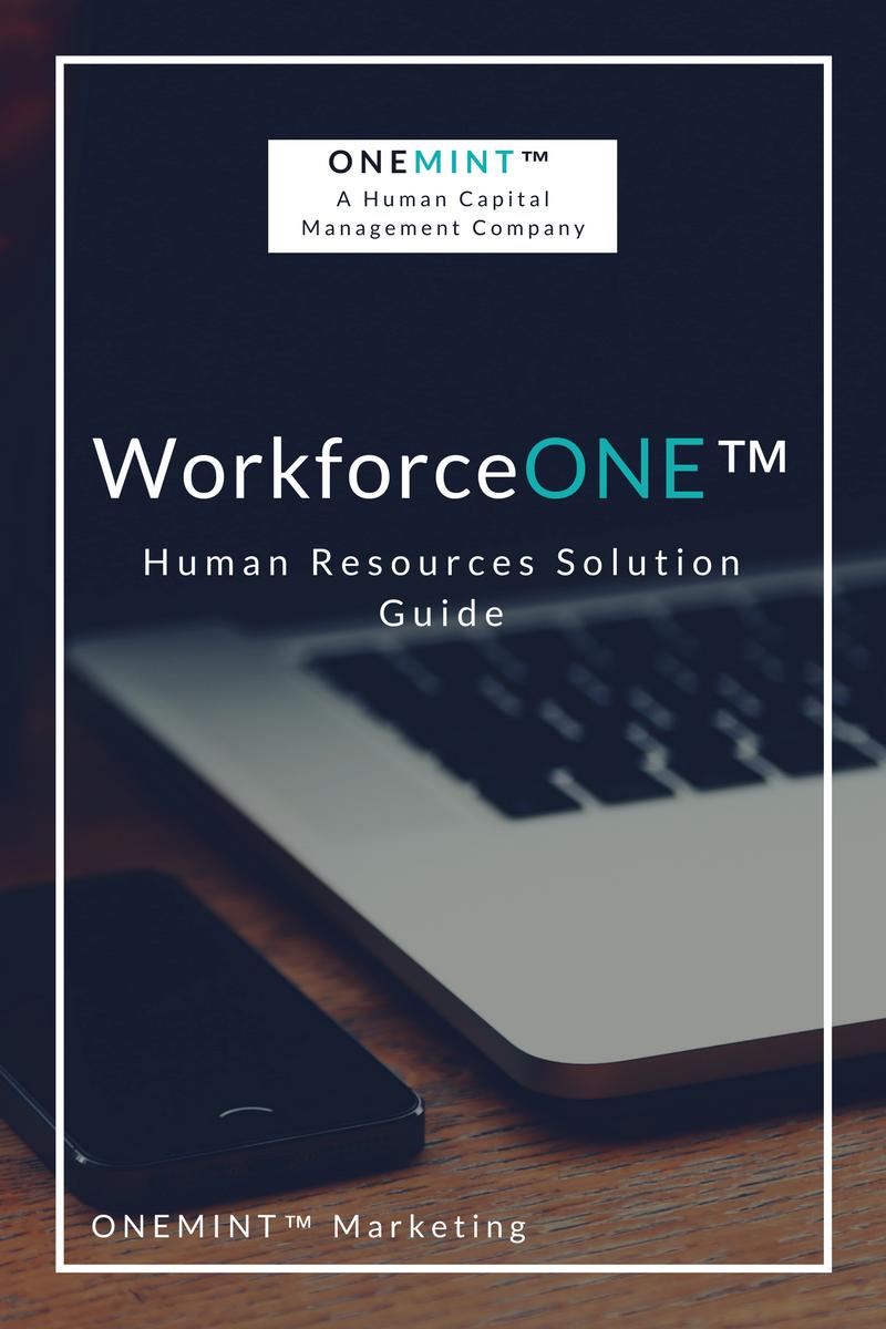 WorkforceONE HR Solution Guide